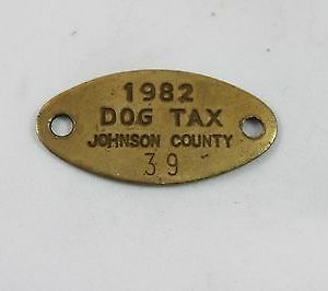 vintage-johnson-county-dog-tax-tag-1982