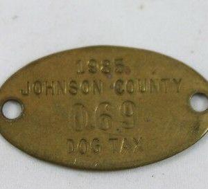 vintage-johnson-county-dog-tax-tag-1985