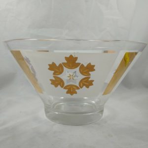 vintage-mid-century-modern-gold-leaf-bowl-purple-flowers-10-3-4-x-5-3-4