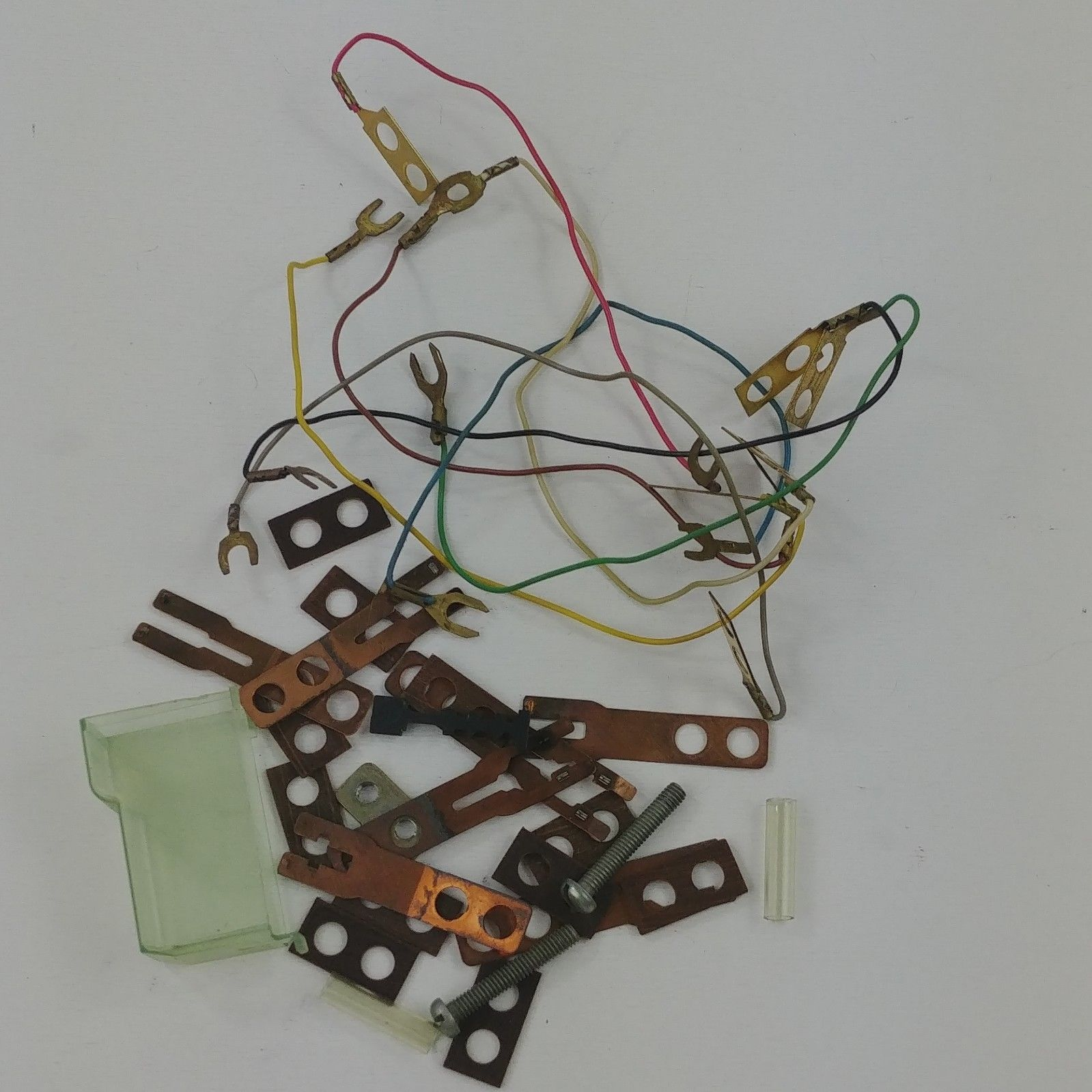Astounding Vintage Rotary Telephone Replacement Part Itt 148 Wires Cover Switch Wiring Cloud Hisonuggs Outletorg