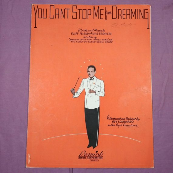 vintage-sheet-music-you-cant-stop-me-from-dreaming-friend-franklin