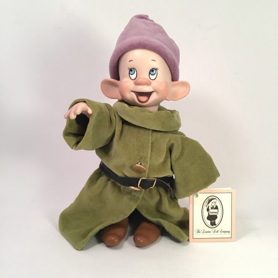 wendy-lawton-limited-edition-dopey-porcelain-doll-walt-disney-snow-white-and-the-seven-dwarfs