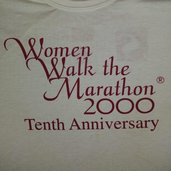women-walk-the-marathon-2000-10th-anniversary-t-shirt-sz-large