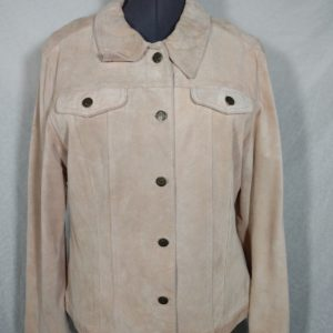 womens-tan-for-joseph-xl-100-suede-leather-button-up-jacket-lined