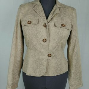 worthington-beige-tan-3-button-blazer-jacket-coat-womens-size-8
