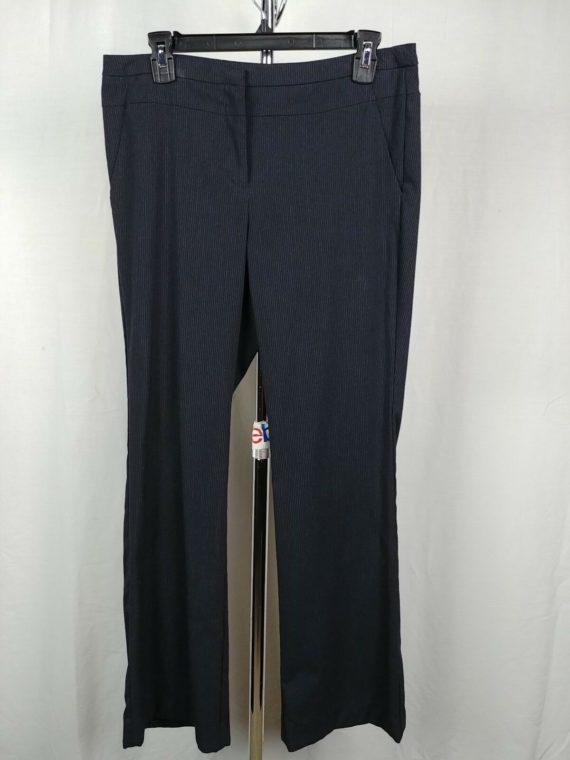 20be43c54200 Worthington Black Pinstripe Dress Pants Slacks Modern Fit Womens Size 8