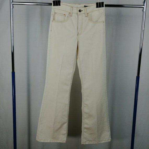 zara-woman-cream-beige-pants-flare-leg-womens-size-2