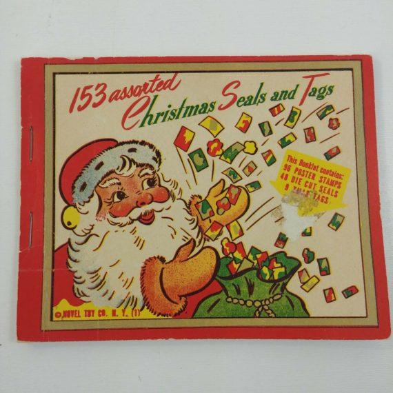 153-assorted-christmas-seals-tags-novel-toy-co-unused-booklet-lot-11