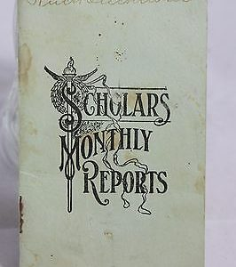 1914-scholars-monthly-reports-certificate-of-promotion