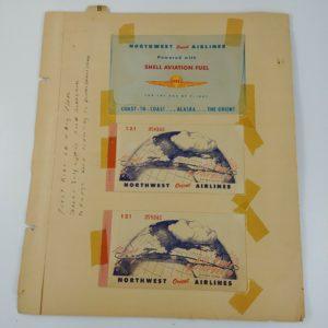 1948-northwest-orient-airlines-north-dakota-ticket-envelope-grand-forks-fargo