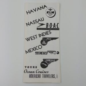 1958-american-travelers-inc-brochure-pamphlet-tours-ocean-cruises-cubana-paa