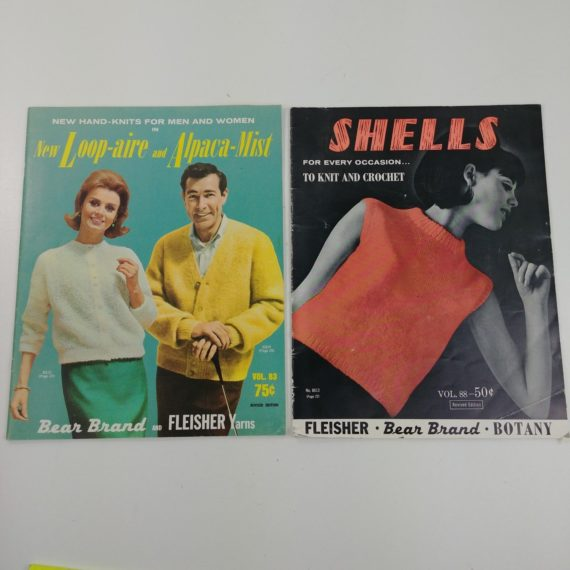 2-vintage-knit-crochet-magazine-booklets-patterns-for-men-women