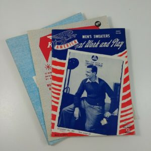 3-vintage-knitting-booklets-mens-sweaters-knit-king-family-simply-fun-easy