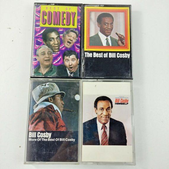 4-cassette-tape-lot-bill-cosby-himself-best-of-bill-cosby-best-of-comedy-funny