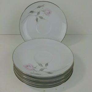 5-mikasa-fine-china-primrose-5673-6-1-4-plates-pink-rose-lot-6