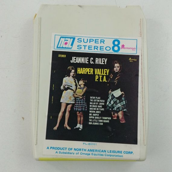 8-track-jeannie-c-riley-harper-valley-p-t-a-super-8-stereo-pl-80001-vintage