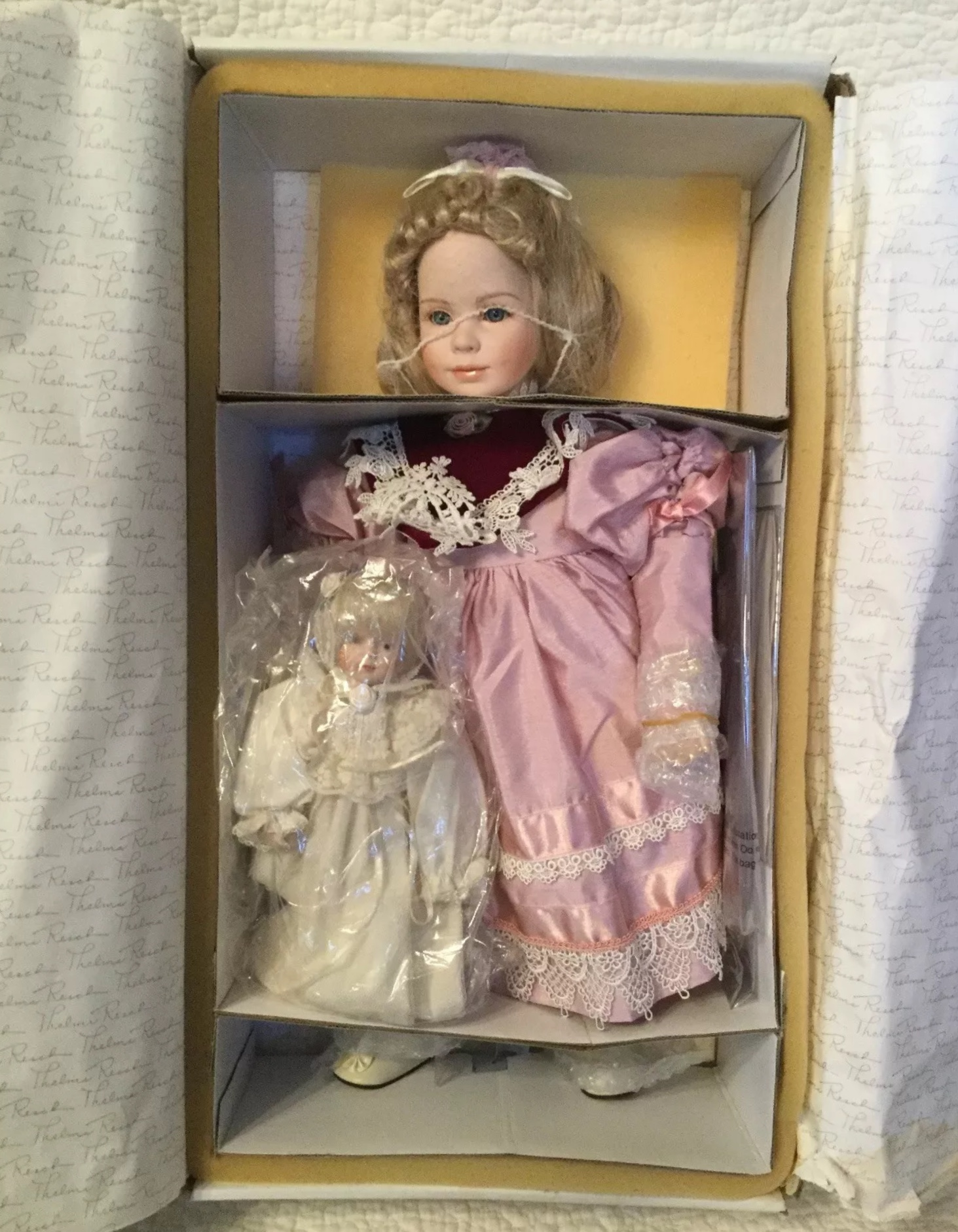 Thema Resch Porcelain Doll Fiona Limited Edition