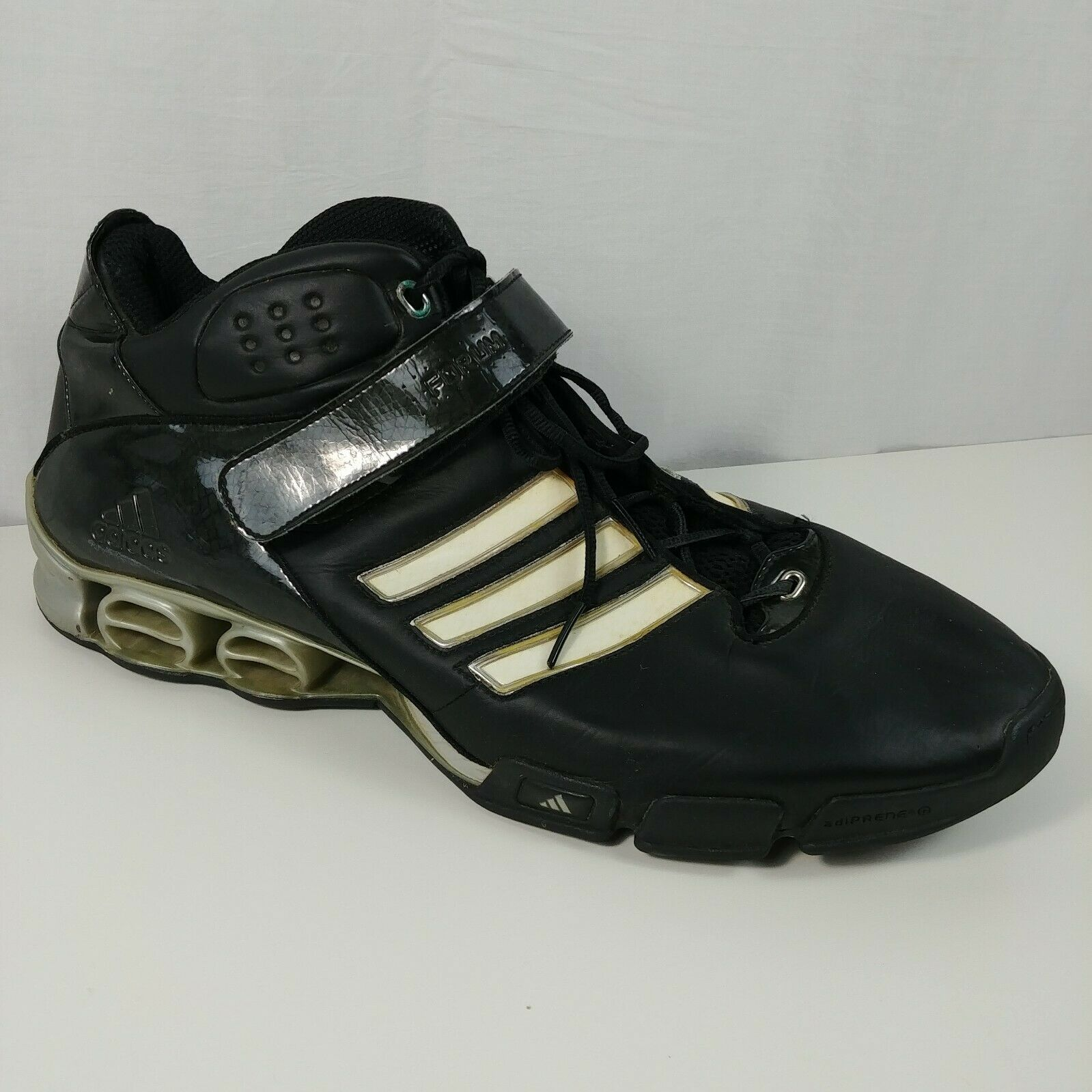 bbcb60a6a1d Adidas Forum A3 Black 809295 Mens Basketball Shoes Size 19 Sneaker – Lot  03