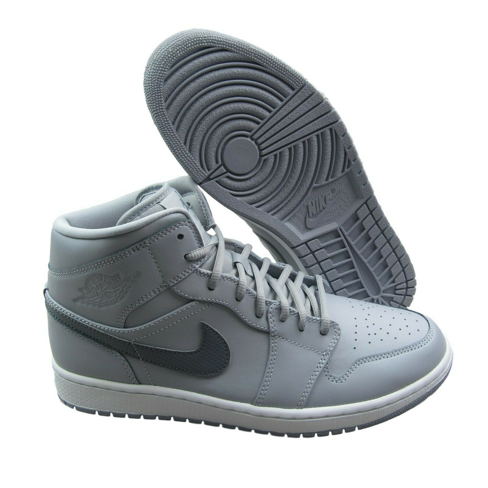 52ee45017a90b4 ... Grey Basketball Shoes 554724 033 New. 🔍. air-jordan-1-mid-mens-size-11- wolf-
