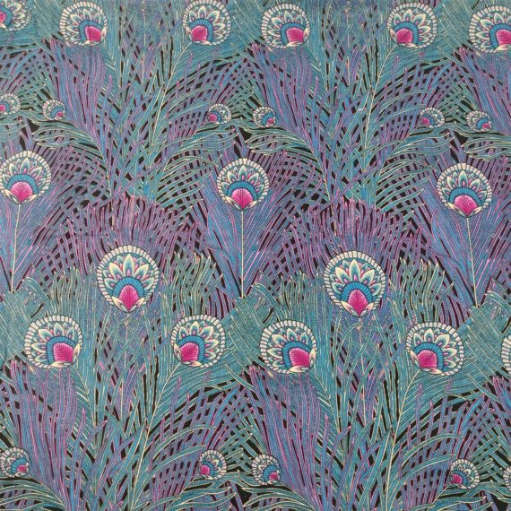 alexander-henry-collection-registered-vintage-peacock-feather-fabric-2-yards