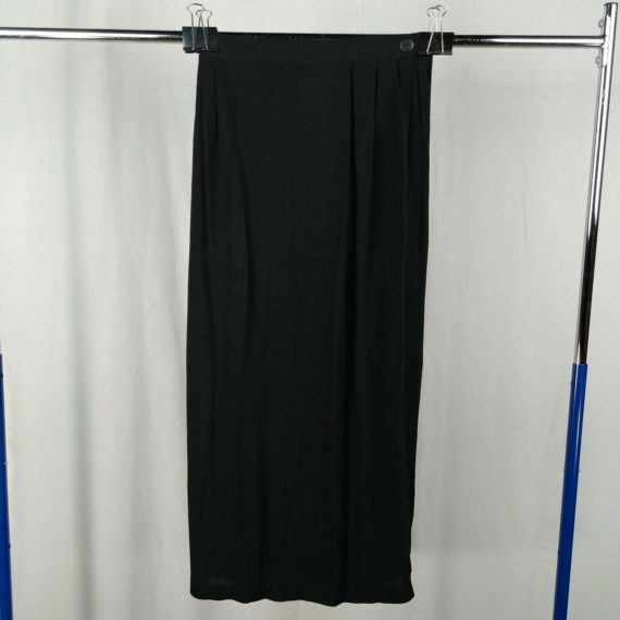 ali-miles-petite-black-long-maxi-skirt-womens-25-waist