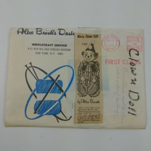 alice-brooks-designs-sewing-pattern-merry-clown-doll-needlecraft-1979-nos