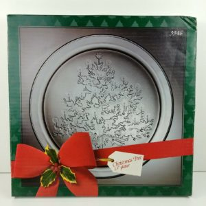 american-glass-clear-glass-christmas-tree-holiday-serving-tray-platter-round-13