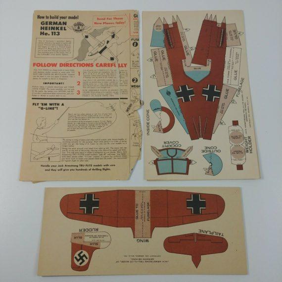 american-grumman-heinkel-he-113-model-airplane-jack-armstrong-radio-premium-1944