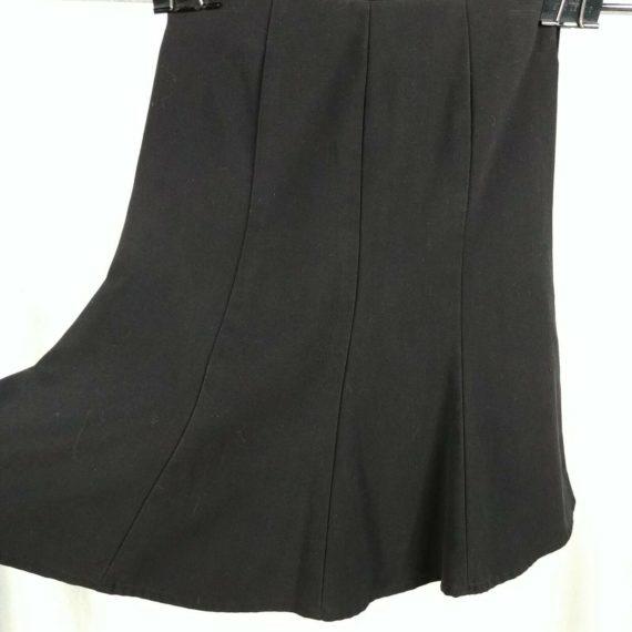 amys-closet-black-skirt-girls-size-8-below-the-knee