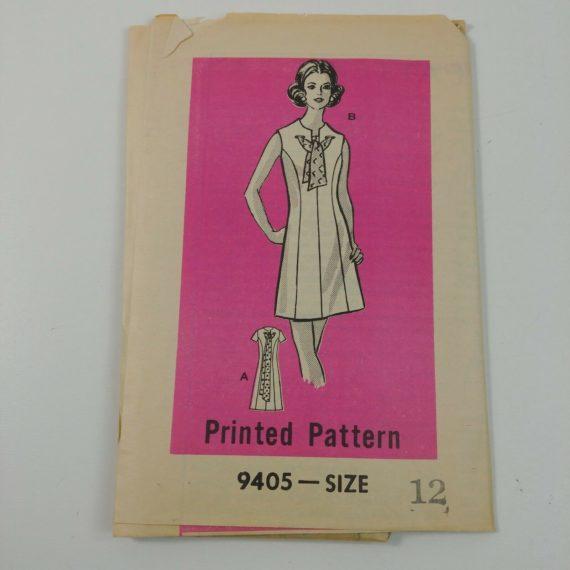 anne-adams-casual-dress-pattern-size-12-pattern-9405-no-envelope-uncut