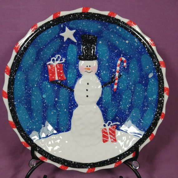 belle-casa-by-ganz-snowman-plate-with-raised-front-8-inch-serving-or-hanging