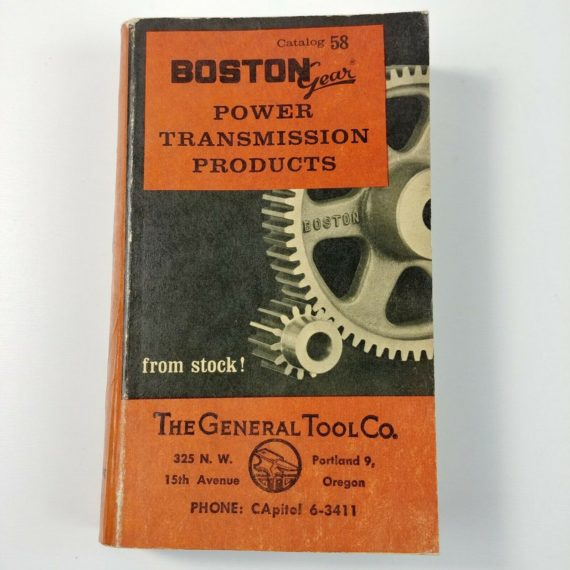 boston-gear-power-transmission-products-catalog-no-58-paperback-1963