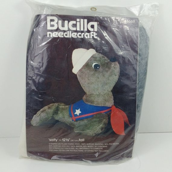 bucilla-needlecraft-salty-the-seal-kit-stuffed-animal-12-tall-48669