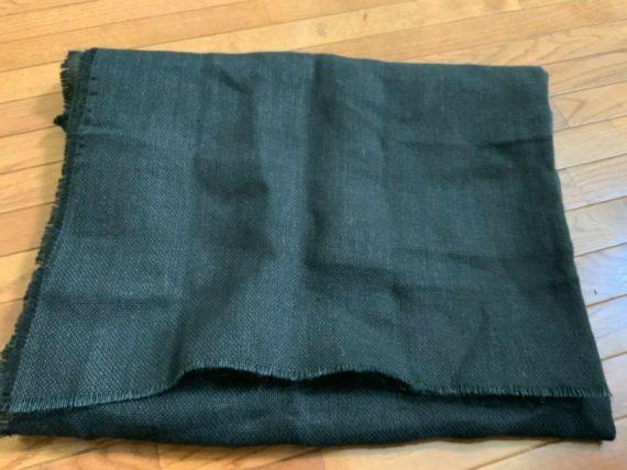burlap-jute-black-fabric-71lenght-42-wide-lot-of-2