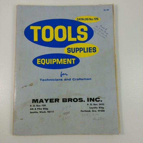 catalog-no-725-tools-supplies-equipment-for-technicians-craftsmen-mayer-bros