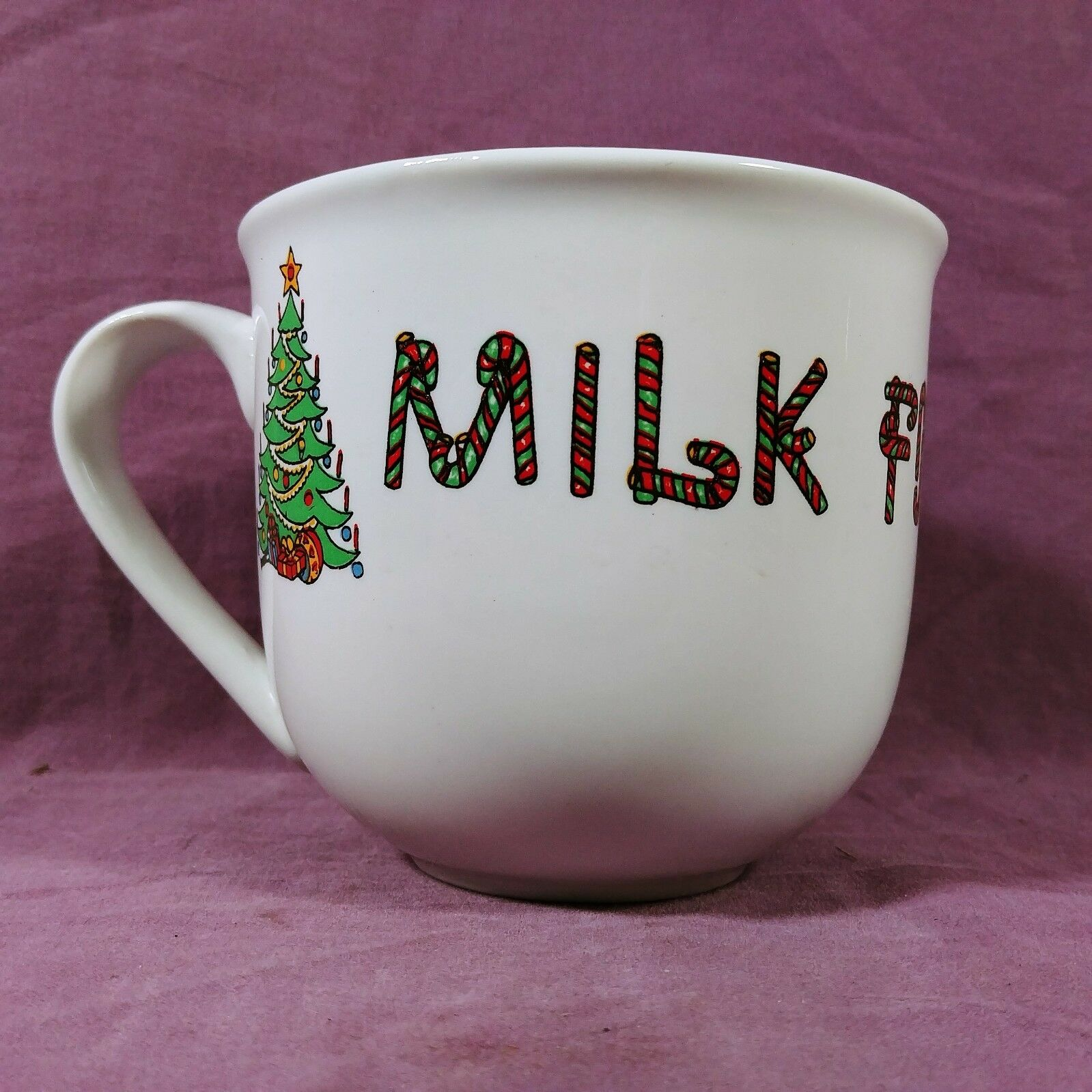 Christmas Santa Tree Coffee Milk Holidays Tea Candy Canes Cup Mug For 80wmNn
