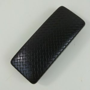 cole-haan-hard-clamshell-sunglasses-case-brown-textured-basket-weave-pattern
