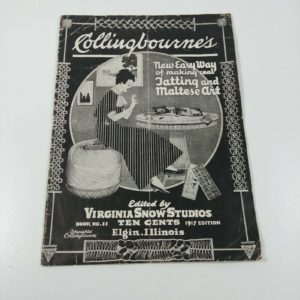 collingbournes-1917-vintage-patterns-for-tatting-maltese-crochet-book-no-11