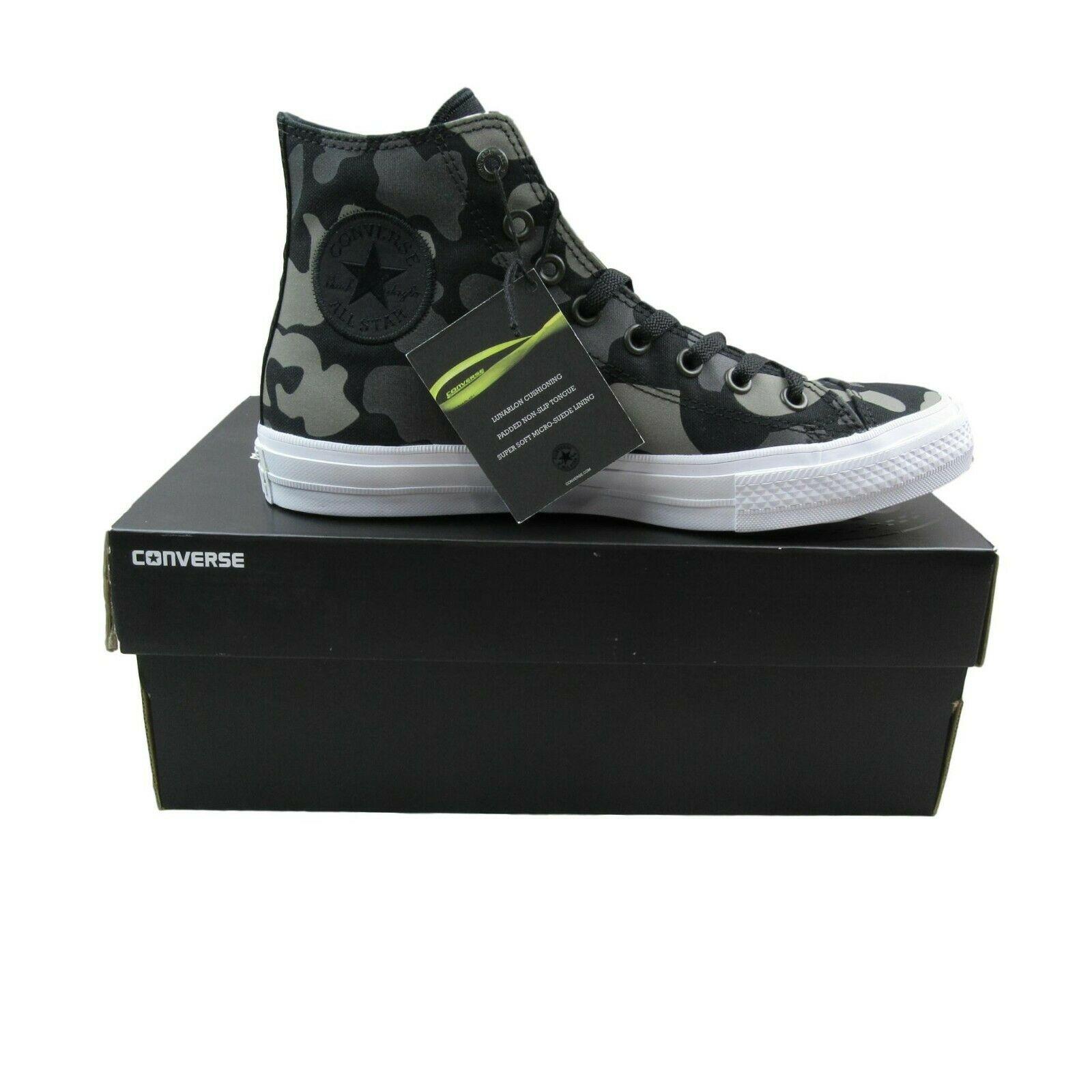e5a593482d7ac Converse Chuck Taylor All Star II Hi Size 10.5 Shoes Charcoal Camo ...