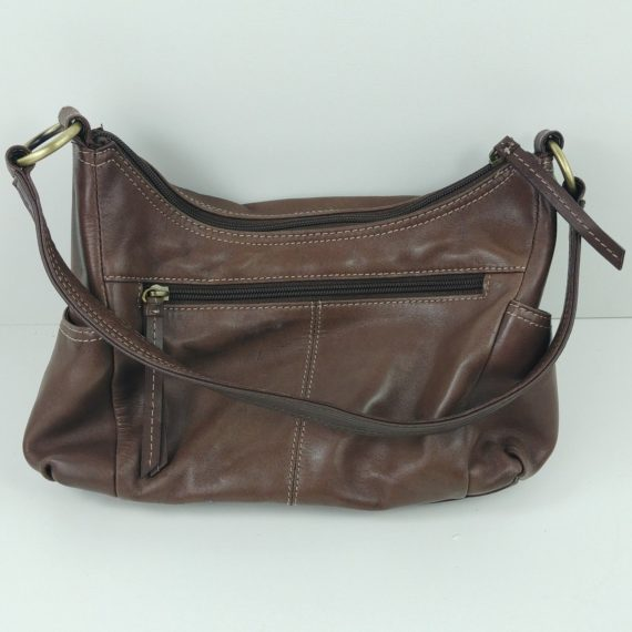 croft-barrow-womens-brown-leather-handbag-shoulder-bag-purse