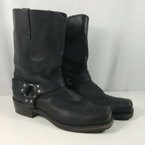 durango-db510-mens-black-buckle-leather-11-harness-motorcycle-boots-size-15-d