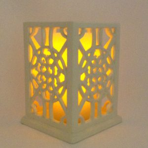 elegant-lace-luminary-ivory-enameled-cast-iron-pillar-candle-holder