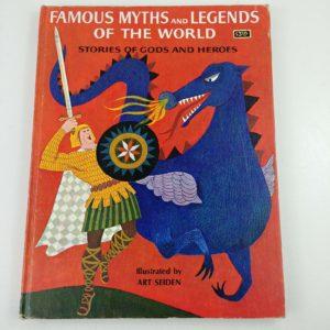 famous-myths-legends-world-grosset-dunlap-1960-homeschooling-middle-school