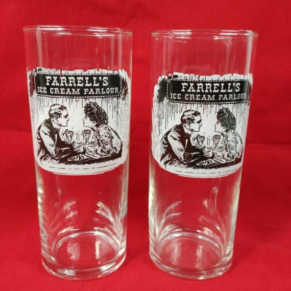 farrells-ice-cream-parlor-glass-cup-high-ball-5-collectible-black-white-ad
