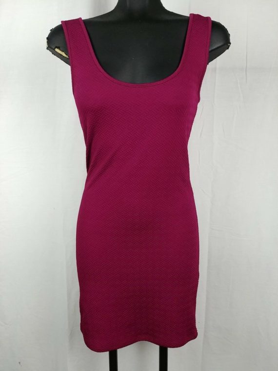 forever-21-purple-scoop-neck-stretch-sexy-booty-dress-juniors-size-m