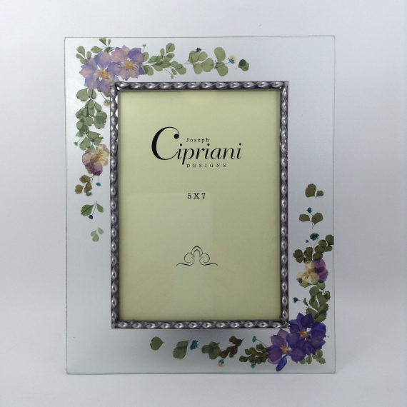glass-hand-painted-purple-flowers-picture-frame-by-cipriani-designs