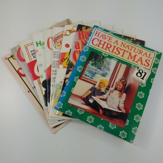 have-a-natural-christmas-lot-of-9-magazine-back-issues-1981-1988-1990