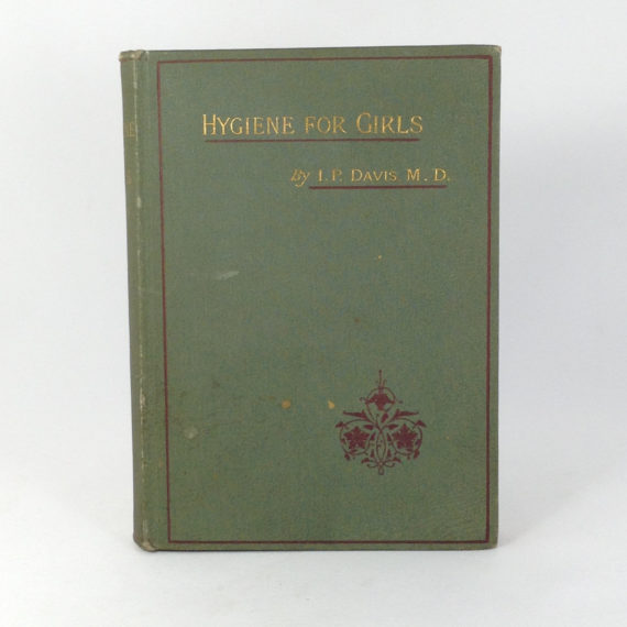 hygiene-for-girls-by-irenaeus-p-davis-md-1883-first-edition-hardcover-book