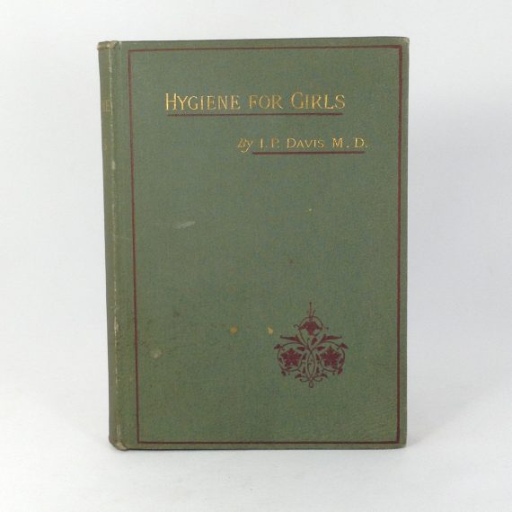 hygiene-for-girls-by-irenaeus-p-davis-md-first-edition-hardcover-book