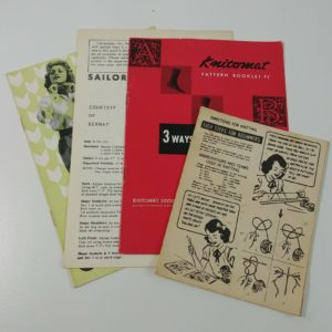 knitting-vintage-booklet-lot-beginners-skirts-socks-sailorette-knitomat-pattern
